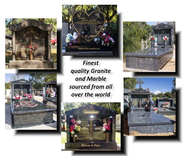 Finest Quality Granite and Marble sourced from all over the world